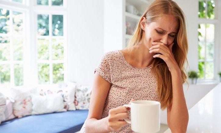 Alergia a café sintomas