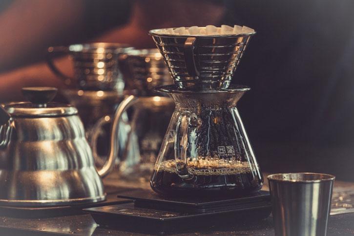 Cafeteira de coador