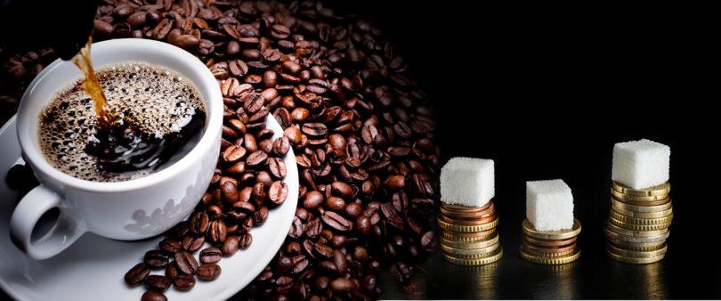 tomar cafe com acucar engorda